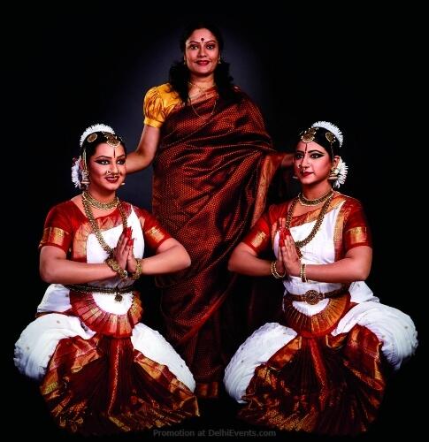 Bharatanatyam Dancers Aparna Rajaraman Arushi Gulati Janya Goel