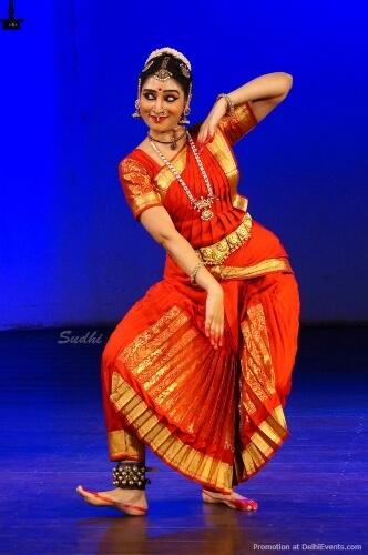 Dancer Bianca Radhakrishna