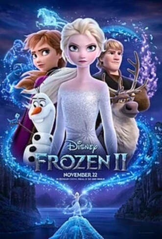 Frozen 2 Animation English Idina Menzel Kristen Bell Jonathan Groff Josh Gad  Film Poster