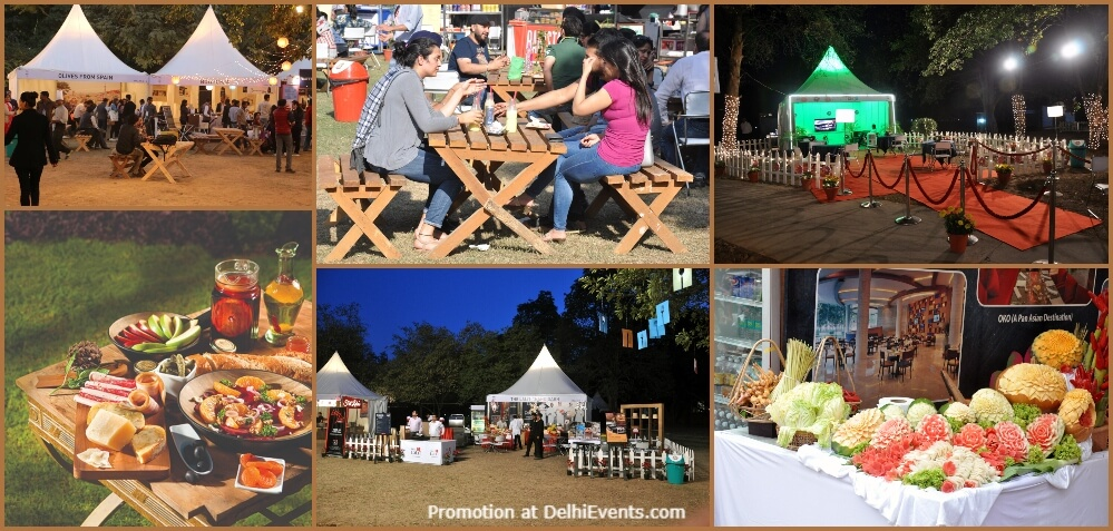 Palate Fest 2019 Food Music Festival PSOI Nehru Park Chanakyapuri Creative