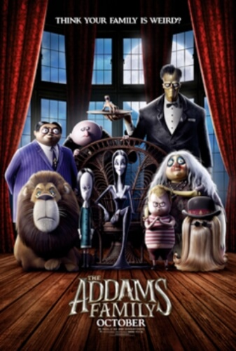 Addams Family Animation Film Poster