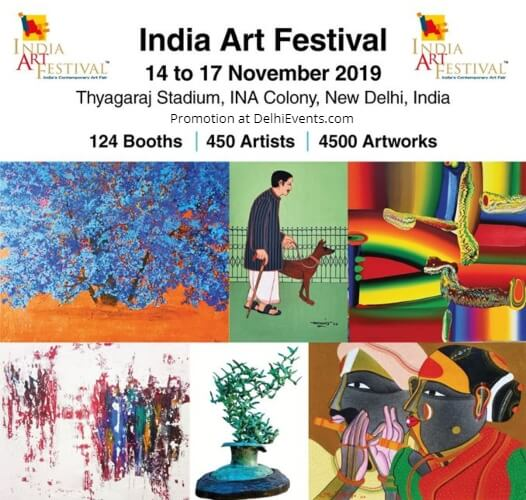 India Art Festival Thyagraj Sports Complex INA Colony Creative