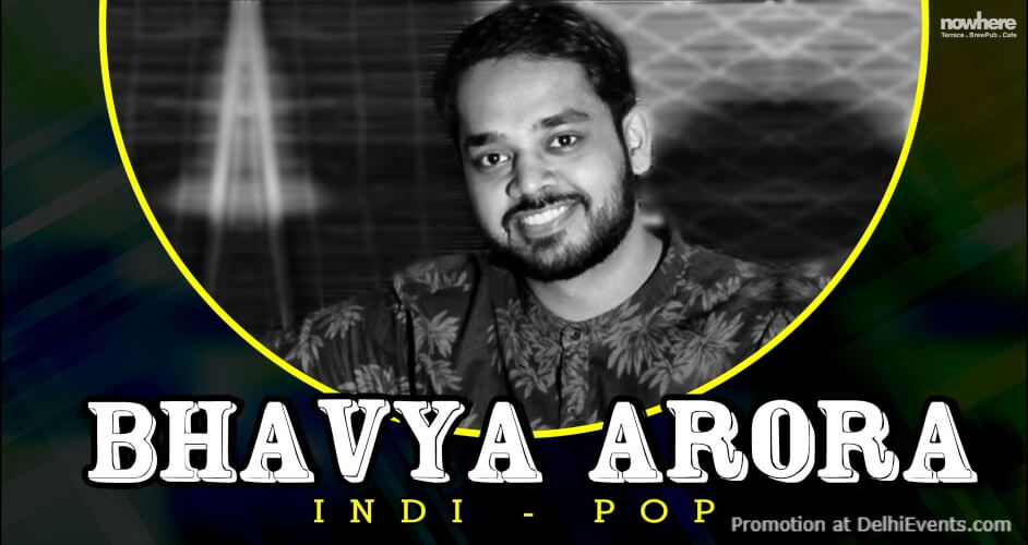 Bhavya Arora Unplugged Nowhere Terrace BrewPub Cafe Gurugram Creative
