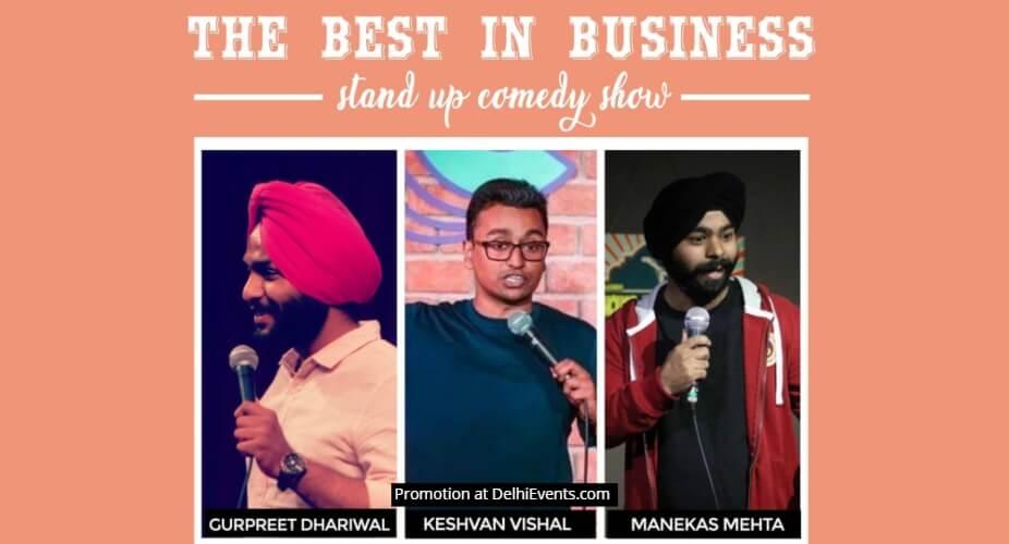 Best Business Standup Comedy Manekas Keshvan Gurpreet Garden House Cafe Shahpur Jat Creative