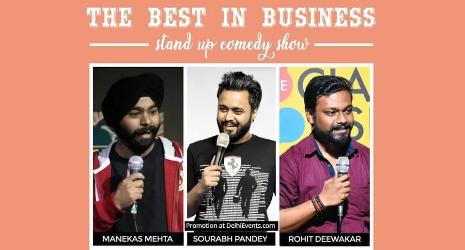 Best Business Standup Comedy Manekas Sourabh Rohit Creative