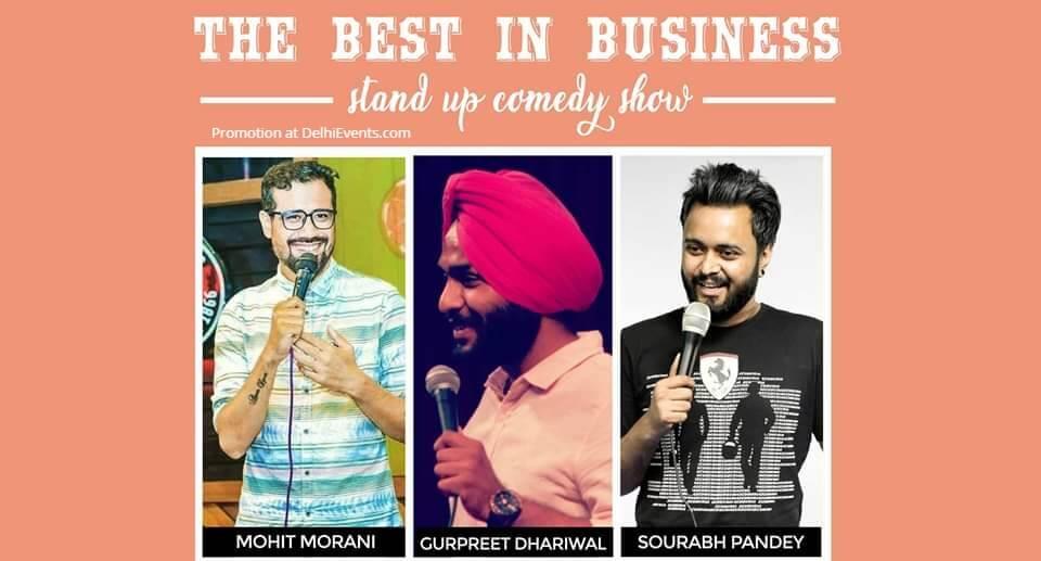 Best Business Standup Comedy Mohit Gurpreet Sourabh Garden House Cafe Shahpur Jat Creative
