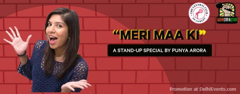 Meri Maa Ki Standup Comedy Punya Arora Gurugram Creative