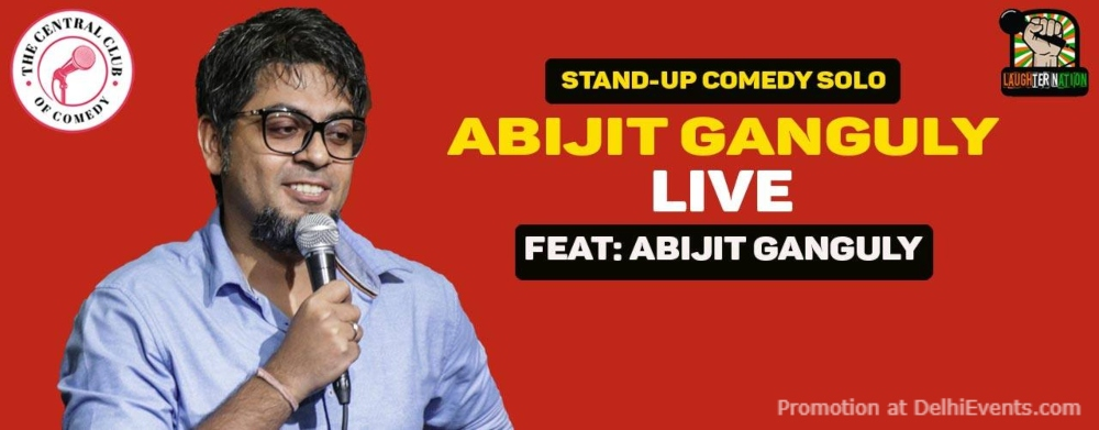 Standup Comedy Abijit Ganguly Dribble Cafe Gurugram Creative