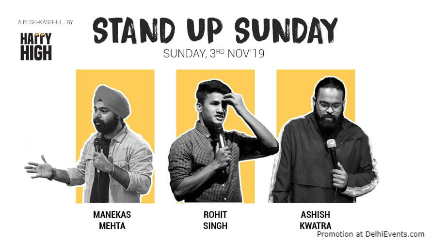 Almost Standup Comedy Shimit Prakhar Ashish Shivam Arun Happy High Shahpur Jat Creative
