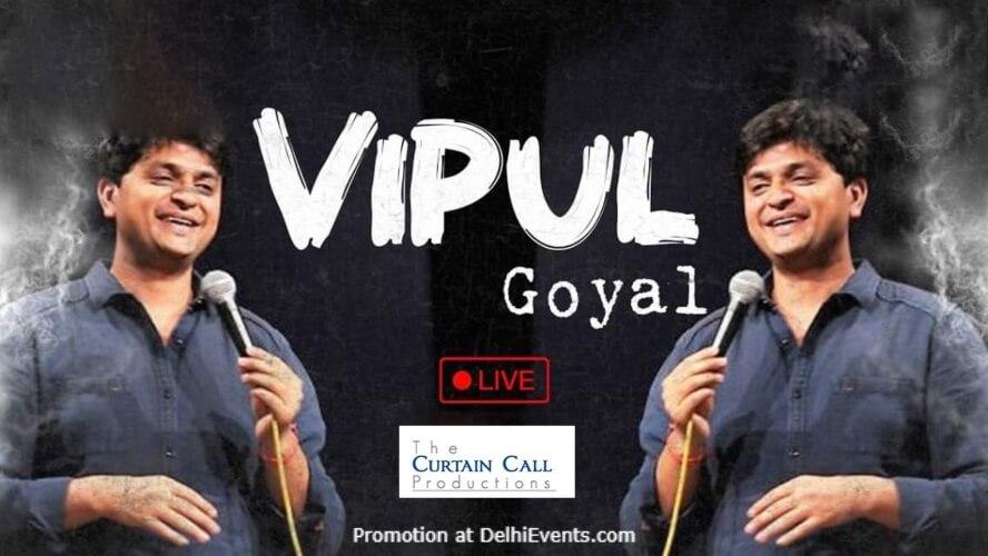 Standup Comedy Vipul Goyal Imperfecto Ruin Pub Khel Gaon Marg Creative