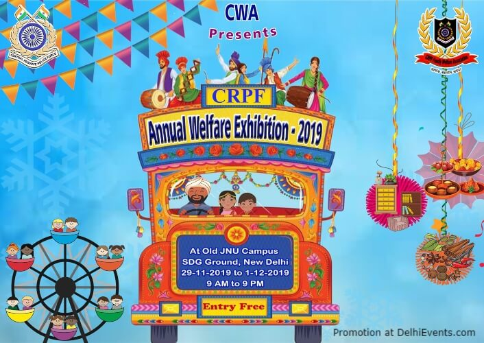 Crpf Annual Welfare Exhibition 2019 Old JNU Campus Munirka Creative