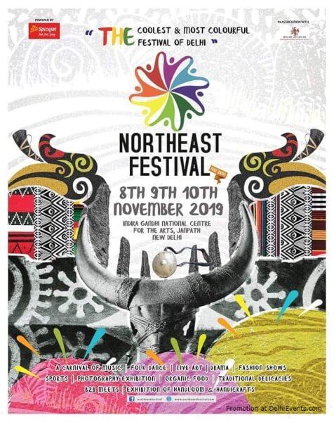 7th North East Festival IGNCA Janpath Creative
