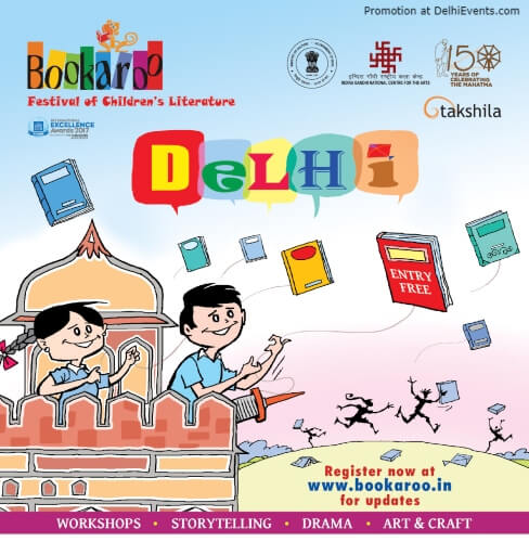 Childrens Lit Fest Bookaroo Delhi 2019 IGNCA Rajendra Prasad Road Creative