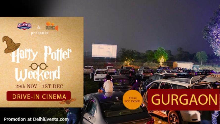 Open Air Cinema Harry Potter Weekend Dome Gurugram Creative