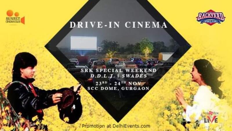 Open Air Cinema Srk Special Dome Gurugram Creative