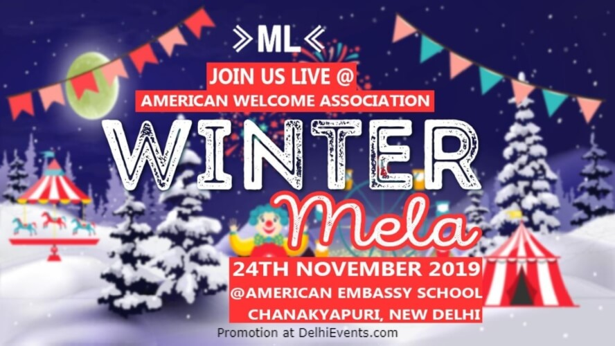 American Welcome Association Winter Mela Embassy School Chanakyapuri Creative