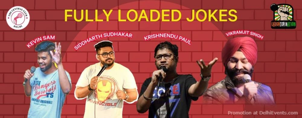 Fully Loaded Jokes Standup Comedy Creative