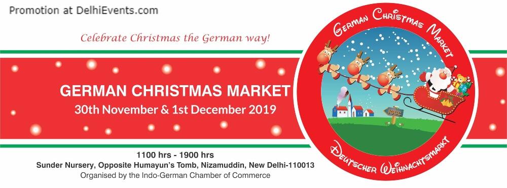 German Christmas Market Gcm 2019 Sunder Nursery Nizamuddin Creative