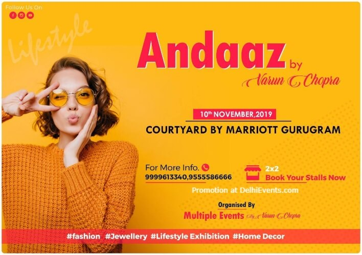 andaaz Varun Chopra Courtyard Gurugram Downtown Marriott Creative