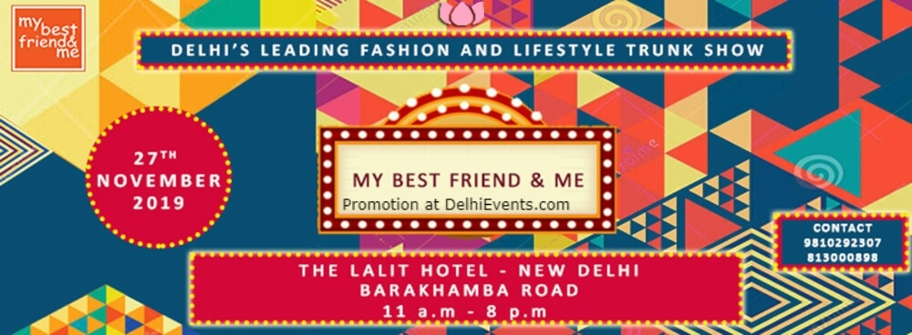My Best Friend Me Trunk Show Lalit CP Creative