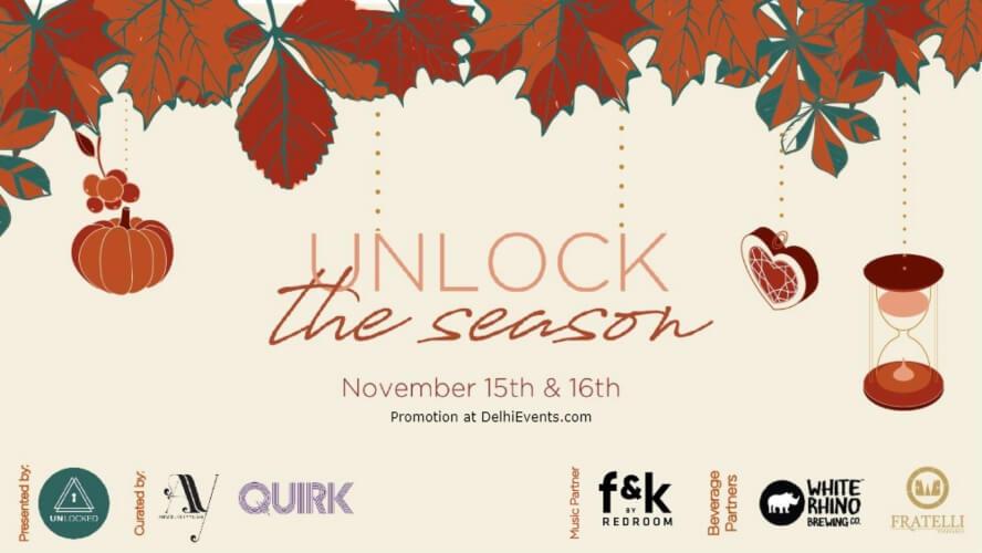 Unlock Season Thanksgiving Pop Up 32nd Milestone Gurugram Creative