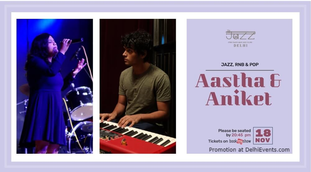 Aastha Aniket Piano Man Jazz Club Safdarjung Enclave Creative