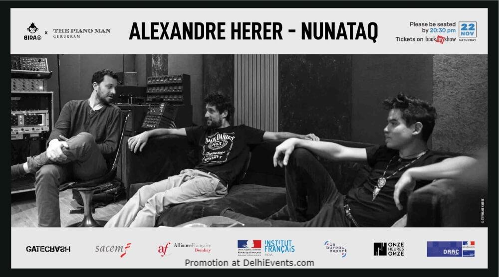 Alexandre Herer Nunataq Piano Man Gurugram Creative