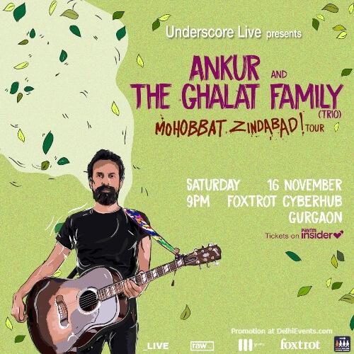 Ankur Ghalat Family Mohabbat Zindabad tour DLF Cyber City Gurugram Creative