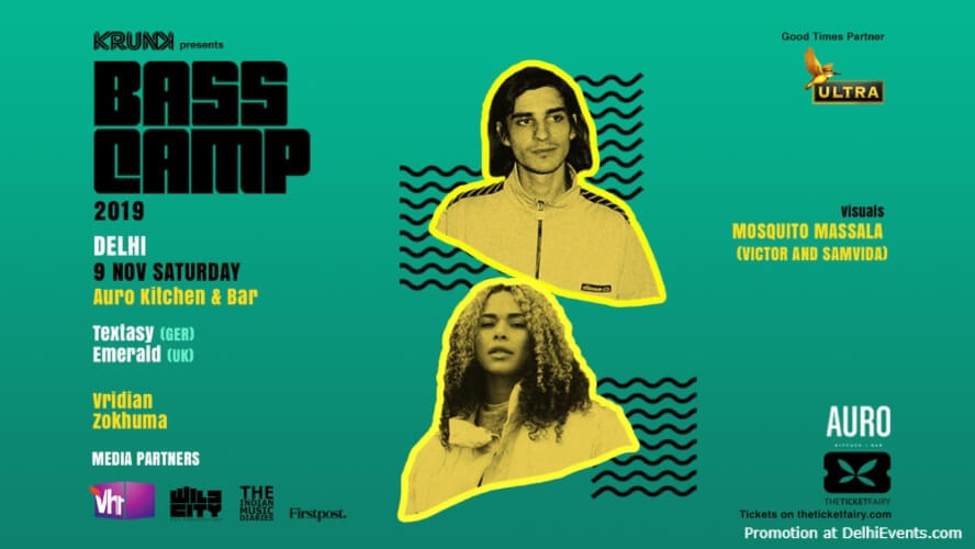 Bass Camp Festival 2019 Auro Kitchen Bar Hauz Khas Creative