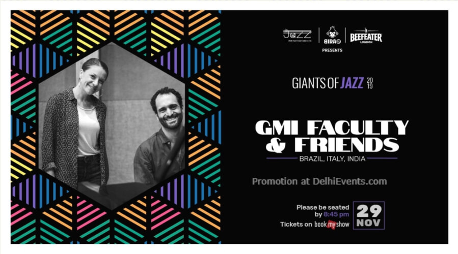Giants Jazz 2019 Gmi Faculty Friends Piano Man Club Safdarjung Enclave Creative