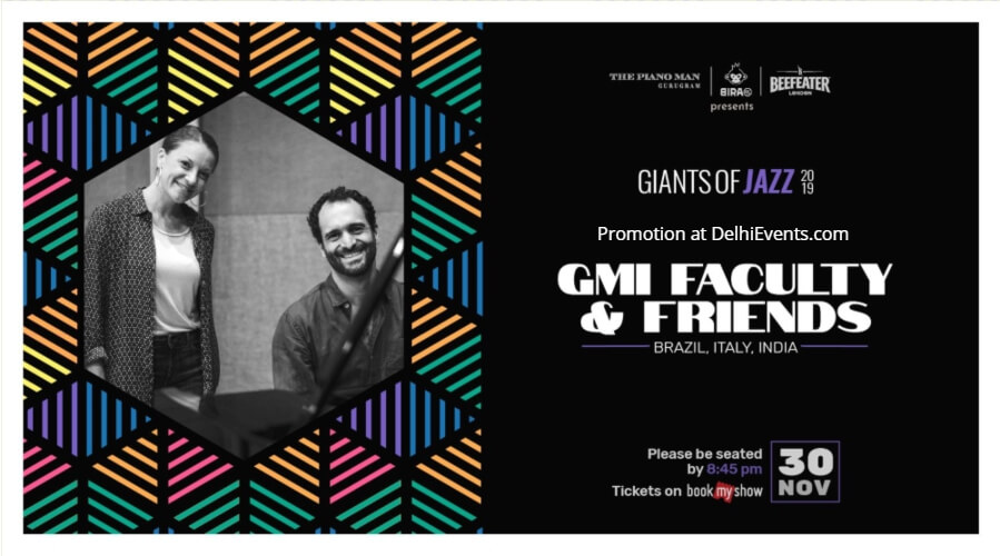 Giants Jazz 2019 Gmi Faculty Friends Piano Man Gurugram Creative
