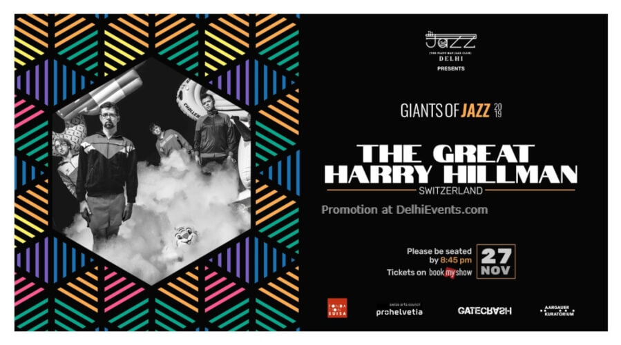 Giants Jazz 2019 Great Harry Hillman Piano Man Club Safdarjung Enclave Creative