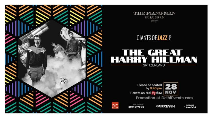 Giants Jazz 2019 Great Harry Hillman Piano Man Gurugram Creative