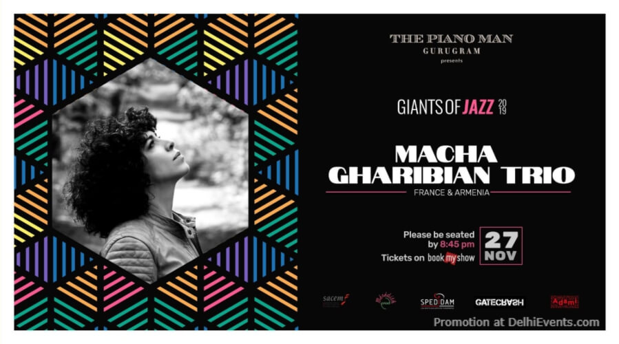 Giants Jazz 2019 Macha Gharibian Trio Piano Man Gurugram Creative