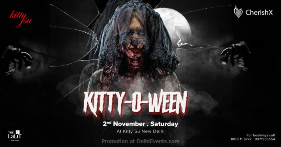 KittyOWeen in Association Cherish X Lalit Connaught Place Creative