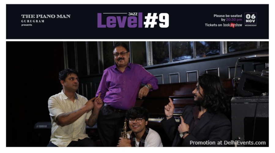 Level #9 Piano Man Gurugram Creative