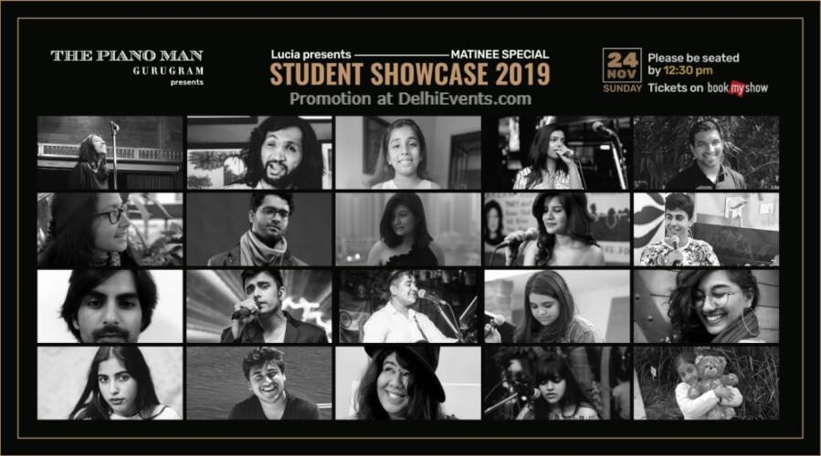Lucia Student Showcase 2019 Matinee Special Piano Man Gurugram Creative