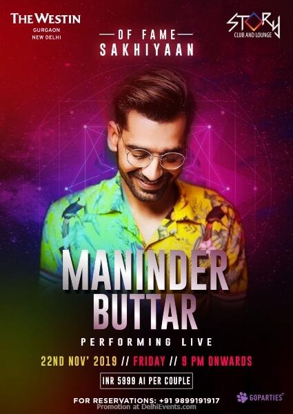 Punjabi Sensation Maninder Buttar Westin Gurgaon Creative