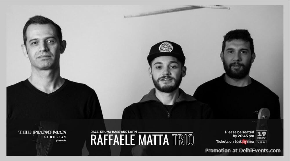 Raffaele Matta Trio Piano Man Gurugram Creative