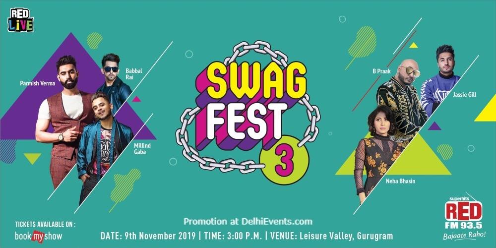 Red Fm Swag Fest 2019 Leisure Valley Gurugram Creative