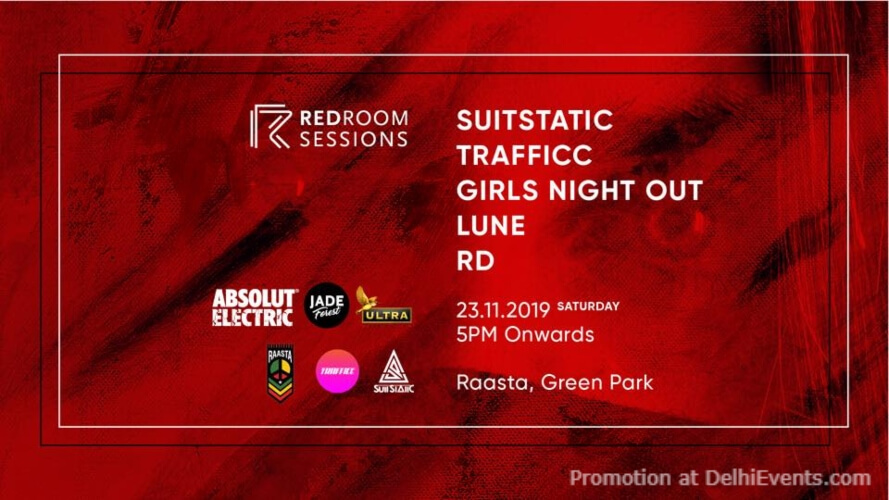 Redroom Sessions X Raasta Green Park Creative