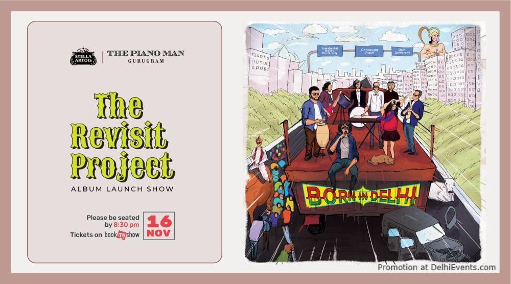 Revisit Project Album Launch Show Piano Man Gurugram Creative