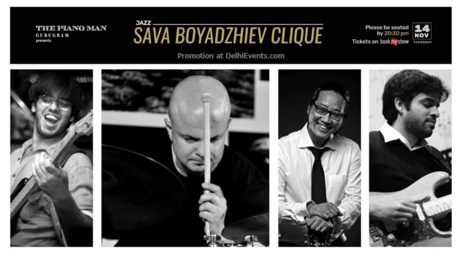 Sava Boyadzhiev Clique Piano Man Gurugram Creative