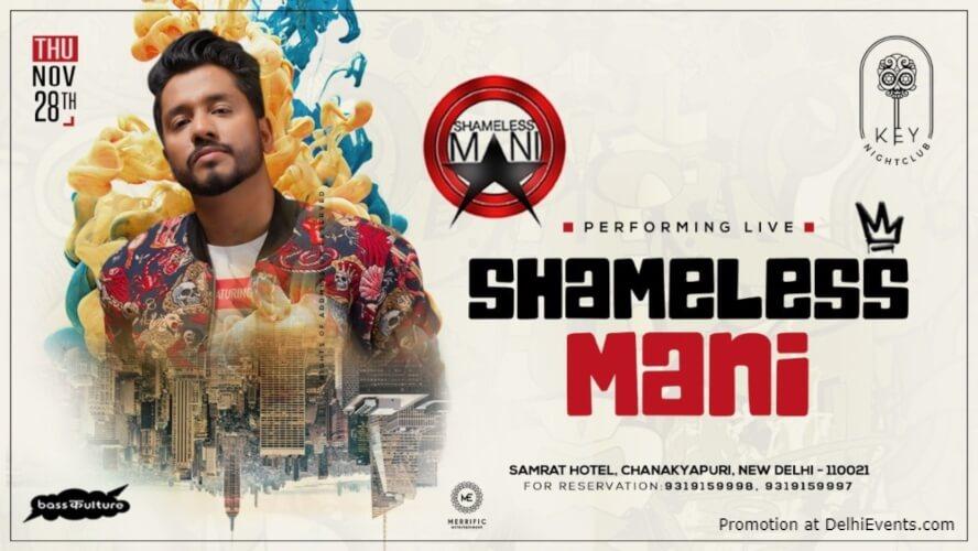 Shameless Mani Performing Key Nightclub Samrat Hotel Chanakyapuri Creative