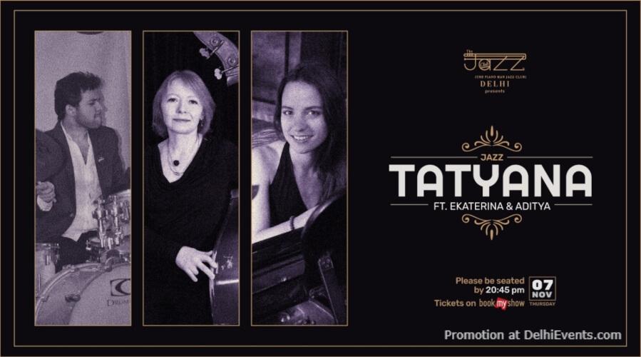 Tatyana Ekaterina Aditya Piano Man Jazz Club Safdarjung Enclave Creative