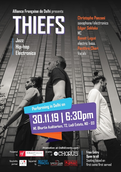 Thiefs Jazz Hip Hop Electronica Alliance Francaise Lodhi Road Creative
