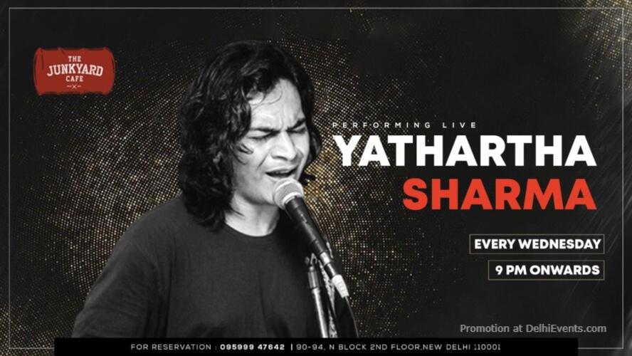 Yathartha Sharma Junkyard Cafe CP Creative