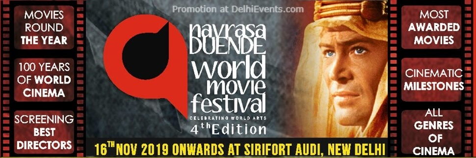 Navrasa Duende World Movie Festival Sirifort Auditorium August Kranti Marg Creative