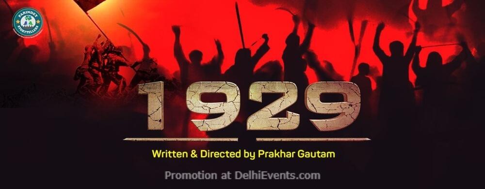 1929 Play Akshara Theatre Baba Kharak Singh Marg Creative