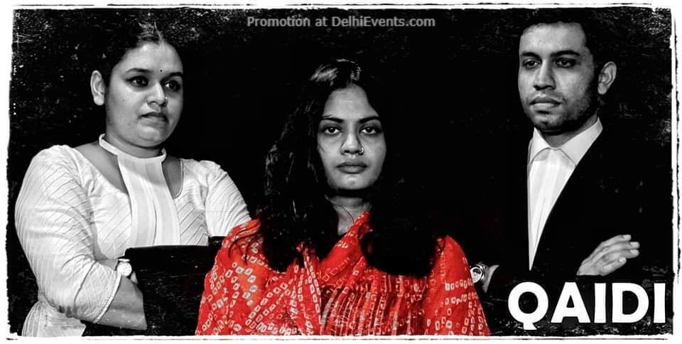 Qaidi Play Akshara Theatre Baba Kharak Singh Marg Creative